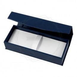 Pudełko prezentowe ze skóry ekologicznej granatowe [P0190]Pudełko prezentowe ze skóry ekologicznej...
