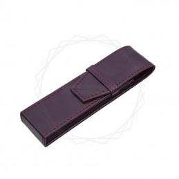 Etui na dwa produkty w kolorze brązowym [E00125]Etui na dwa produkty w kolorze brązowym [E00125]