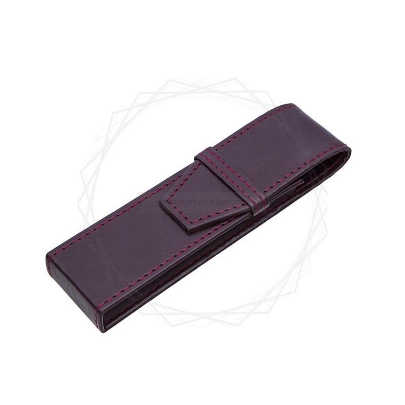 Etui na dwa produkty w kolorze brązowym [E00125]