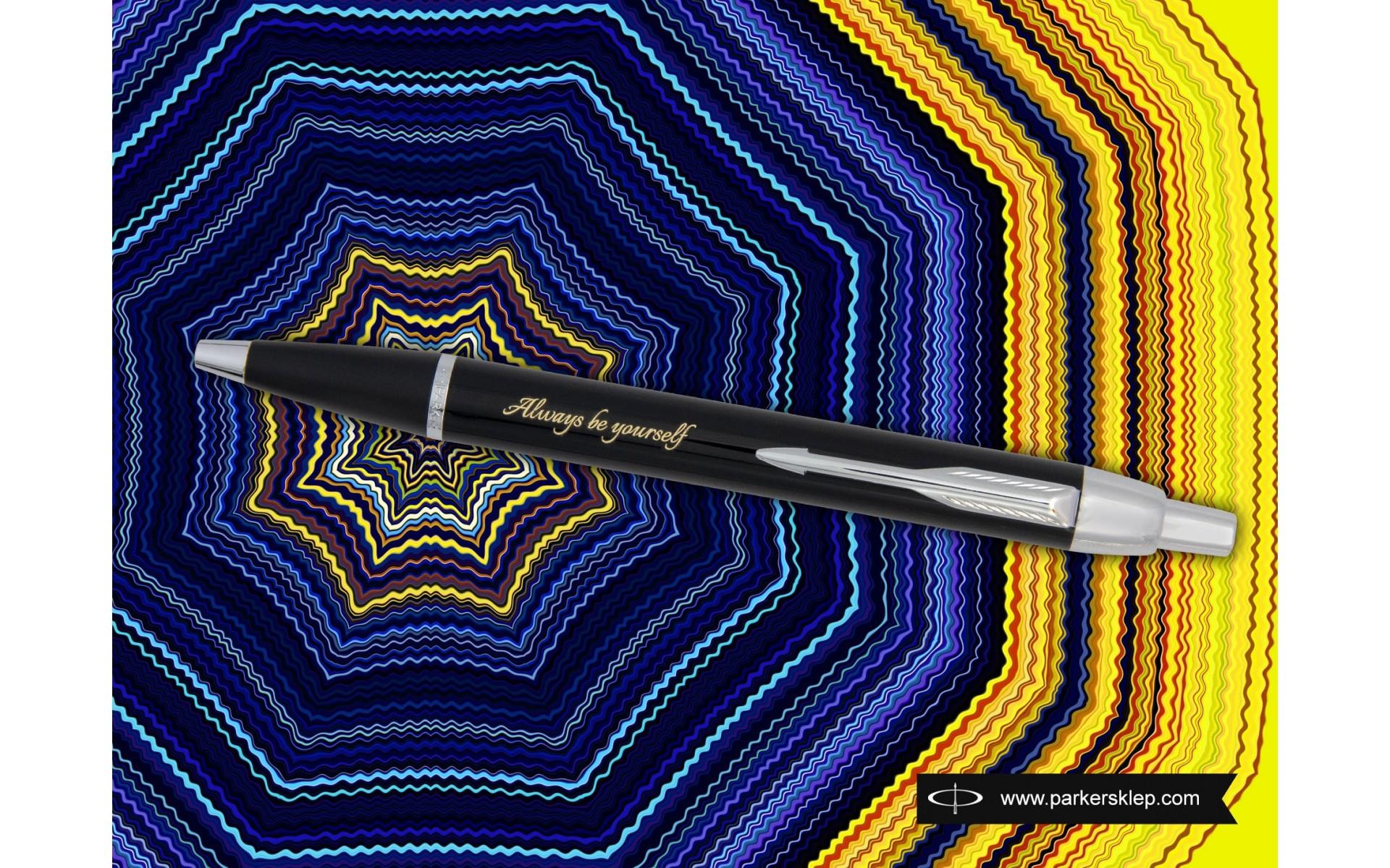 Długopis Parker IM Czarny CT [S0856430] z grawerem