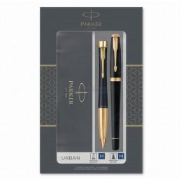 Długopis Urban + Pióro Urban Parker Czarne GT [2093381]Długopis Urban + Pióro Urban Parker Czarne GT...