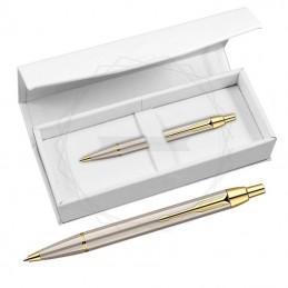 Długopis Parker IM brushed metal GT w białym pudełku [S0856480/2]Długopis Parker IM brushed...