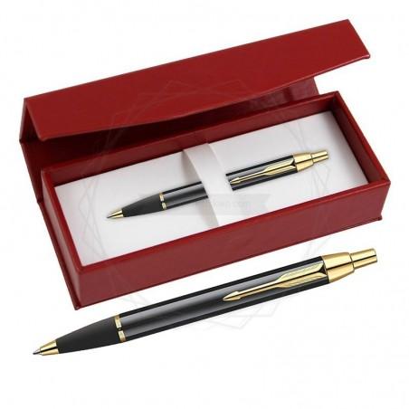 Długopis Parker IM Czarny GT w czerwonym pudełku [S0856440/1]