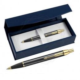 Długopis Parker IM Czarny GT w granatowym pudełku [S0856440/2]
