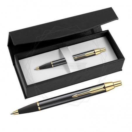 Długopis Parker IM Czarny GT w czarnym pudełku [S0856440/3]