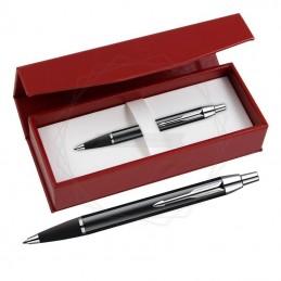 Długopis Parker IM Czarny CT w czerwonym pudełku [S0856430/1]Długopis Parker IM Czarny CT w czerwonym...