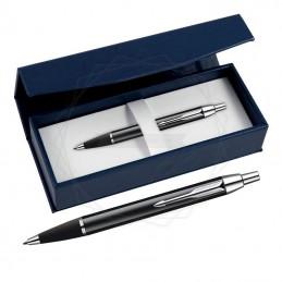 Długopis Parker IM Czarny CT w granatowym pudełku [S0856430/2]Długopis Parker IM Czarny CT w granatowym...