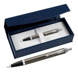 Długopis Parker IM Dark Espresso CT w granatowym pudełku [1931671/2]Długopis Parker IM Dark...
