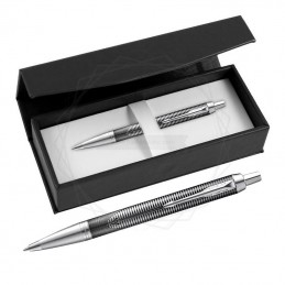Długopis Parker IM Metallic Pursuit Edycja Specjalna w czarnym pudełku [2074144/1]Długopis Parker IM Metallic...