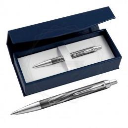 Długopis Parker IM Metallic Pursuit Edycja Specjalna w granatowym pudełku [2074144/2]Długopis Parker IM Metallic...