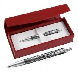 Długopis Parker IM Metallic Pursuit Edycja Specjalna w czerwonym pudełku [2074144/3]Długopis Parker IM Metallic...