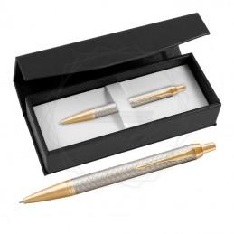 Długopis Parker IM Premium Warm Grey GT w czarnym pudełku [1931687/1]Długopis Parker IM Premium...
