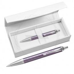 Długopis Parker IM Premium Ciemny Fiolet CT w białym pudełku [1931638/4]Długopis Parker IM Premium...