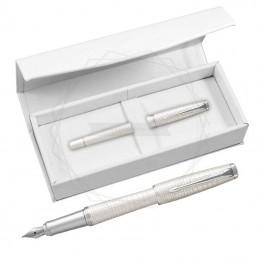 Pióro wieczne Parker Urban Premium Perłowe CT w białym pudełku [1931609/4]Pióro wieczne Parker Urban Premium Perłowe CT w...