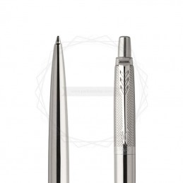 Długopis Parker Jotter Premium Stalowy Diagonal CT [1953197]