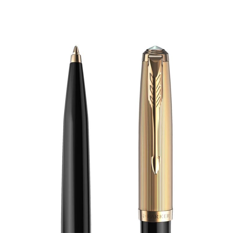 Długopis Długopis Parker 51 Premium czarny CT [2123513] w przekroju