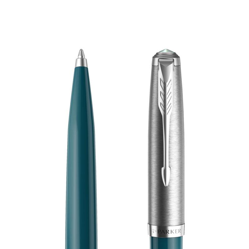 Długopis Parker 51 teal CT [2123508] w przekroju