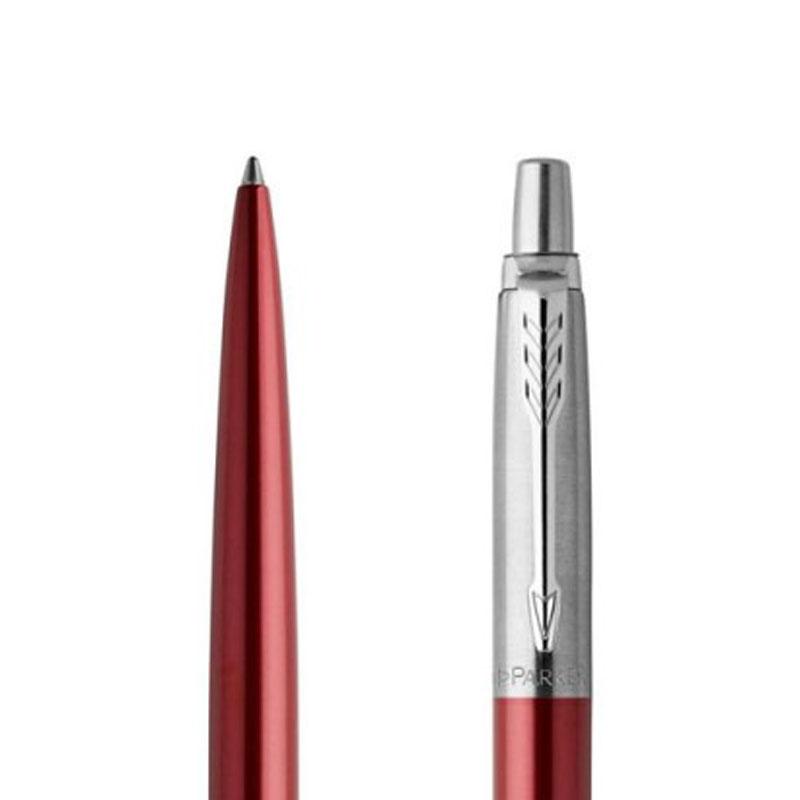 Długopis Parker Jotter Czerwony Kensington CT w przekroju