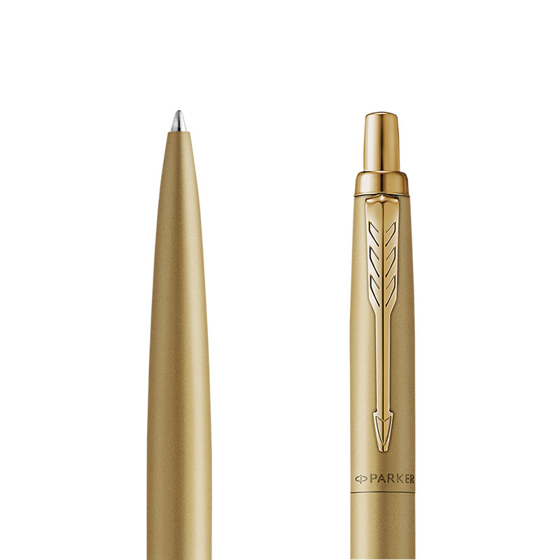 Długopis Parker Jotter XL Monochrome Gold [2122754] w przekroju