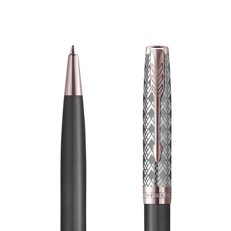 Długopis Parker Sonnet Metal & Grey PGT [2119791] w przekroju