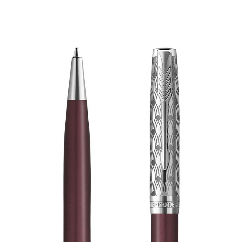 Długopis Parker Sonnet metal red CT [2119783] w przekroju