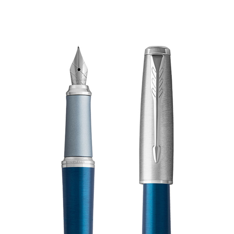 Pióro wieczne Parker Urban Premium Premium Dark Blue CT w przekroju