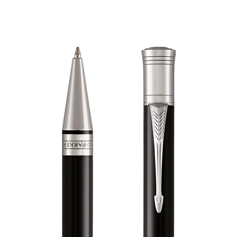 Długopis Parker Duofold Black CT w przekroju