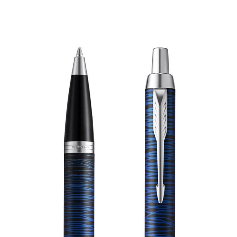 Długopis Parker IM Blue Origin Edycja Specjalna w przekroju