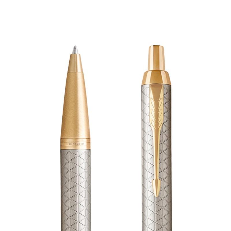 Długopis Parker IM Premium Warm Grey GT w przekroju