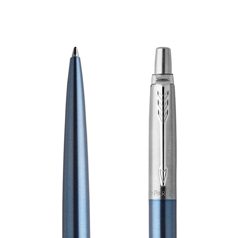Długopis Parker Jotter Jasnoniebieski Waterloo CT w przekroju