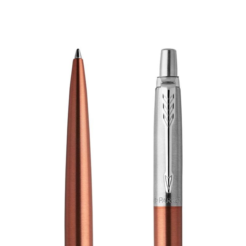 Długopis Parker Jotter Pomarańczowy Chelsea CT w przekroju