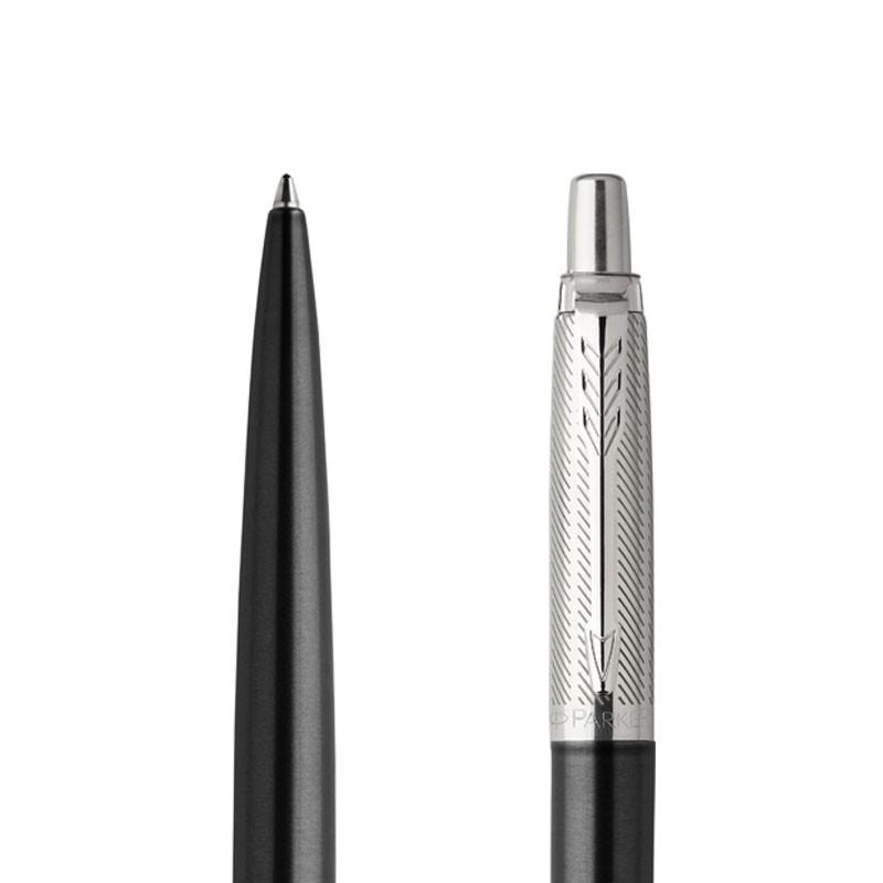 Długopis Parker Jotter Premium Ciemnoszary Tower CT w przekroju