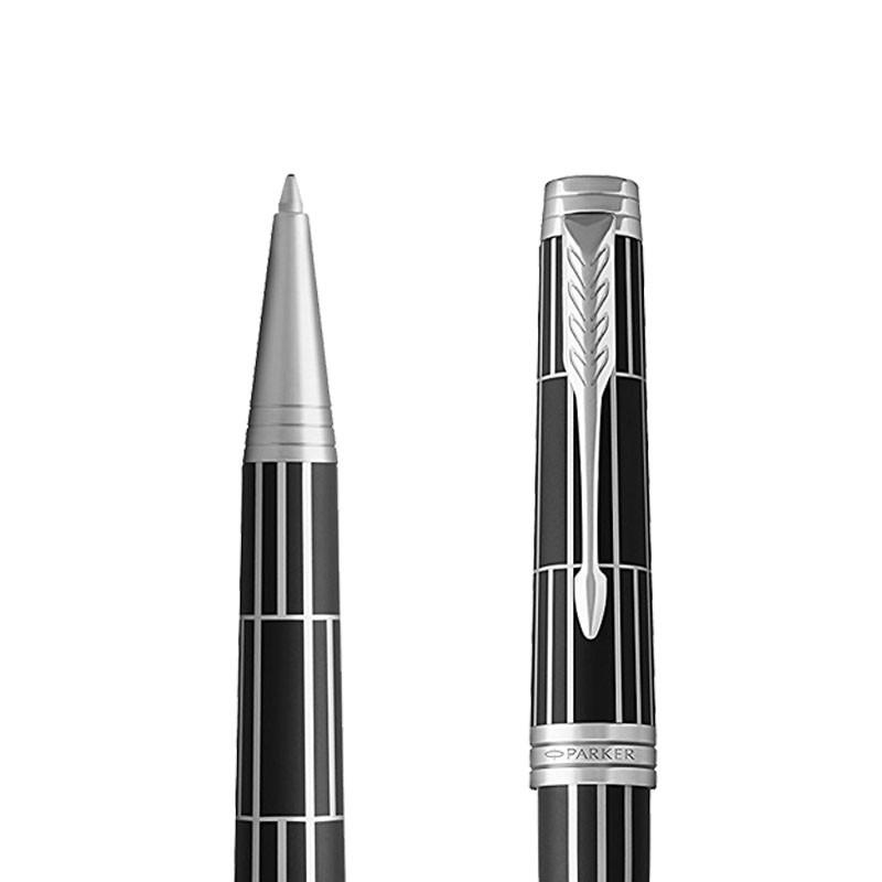 Długopis Parker Premier Luxury Black CT w przekroju