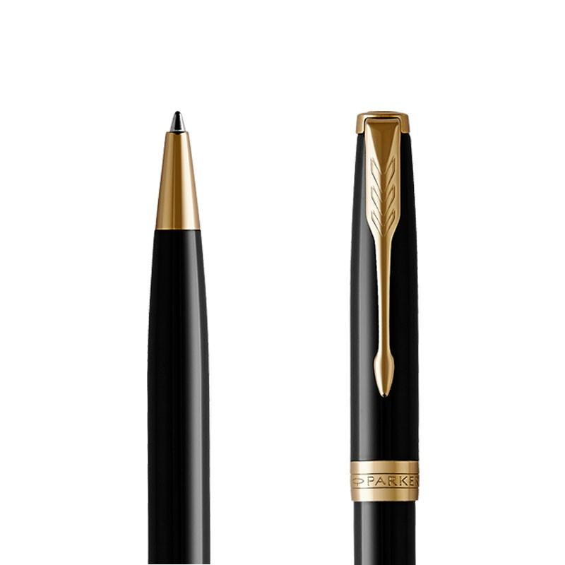 Długopis Parker Sonnet Czarna Laka GT w przekroju