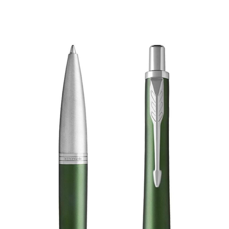 Długopis Parker Urban Premium Zielony CT  w przekroju