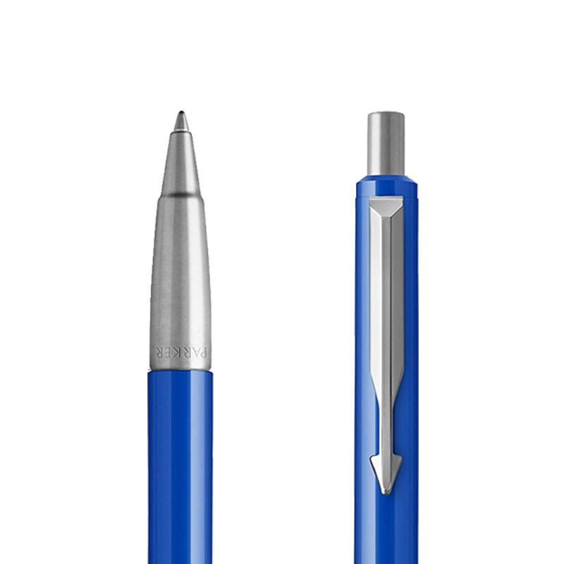 Długopis Parker Vector Niebieski CT w przekroju