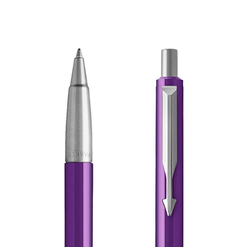 Długopis Parker Vector Purpurowy CT w przekroju